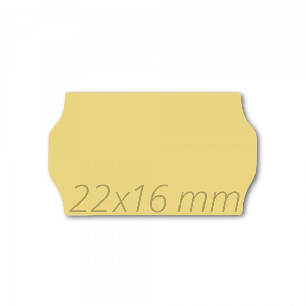 Preisetiketten 22x16, Preisauszeichner Etikettenrollen