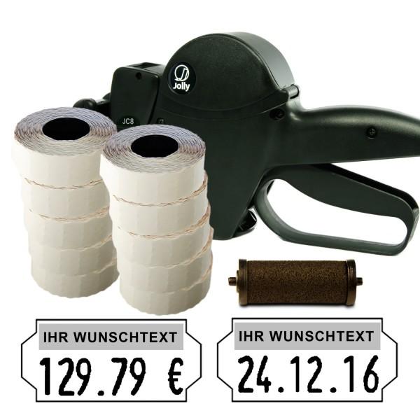Jolly JC8 Preisauszeichner, 8-Stellen, (Set 15.000 + 1 FR)
