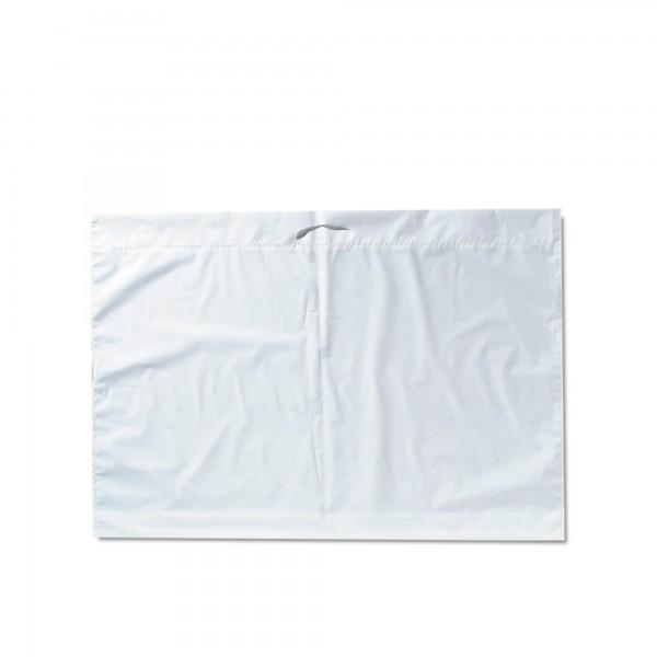 Plastiktüten 72x59+2x5, 60my, weiss