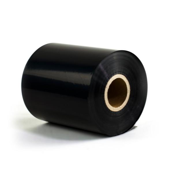 Thermotransferfolie Premium Wachs - Breite 55, 80 oder 110mm - 300m - Farbband schwarz
