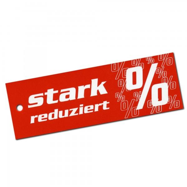 Kartonetiketten 85x30 mm, einzeln, Druck: Stark Reduziert %