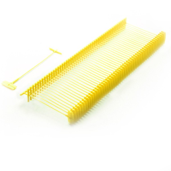Heftfäden Standard, gelb, 5.000 Stück