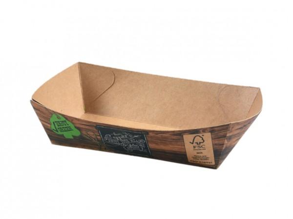 Snackschale ENJOY GREEN, 155 x 90 x 42 mm, 1000. Stck.