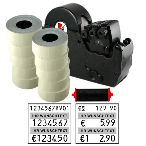 Blitz T177 Preisauszeichner, 3-zeilig, (Set 7.000 + 1 FR)