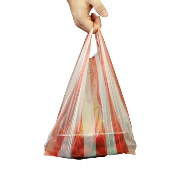 Hemdchentragetaschen 25+12x45 echt 8my rot/weiss gestreift