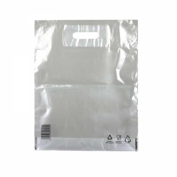 Plastiktüten LDPE COEX 38x45+5, 50my, transparent