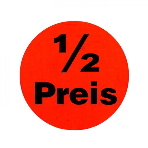 runde Etiketten 32mm, Druck: 1/2 Preis, permanent