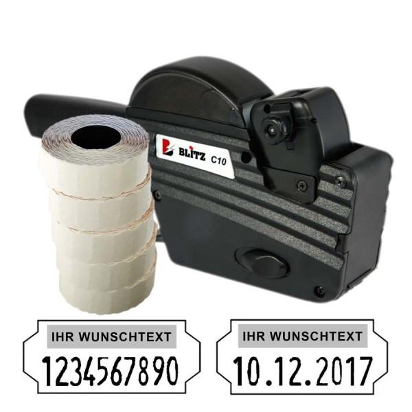 Blitz C10 Preisauszeichner, 10 Stellen (Set 7.500)