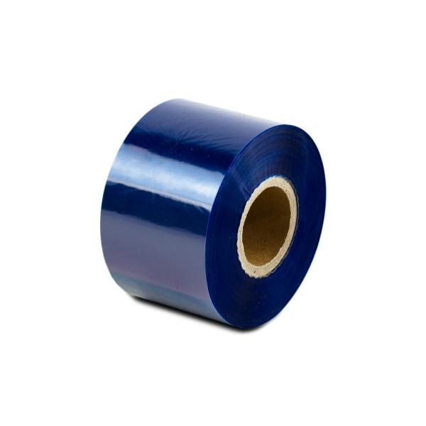 Thermotransferfolie Blau - Wachs - Breite 40 oder 84mm - 300m