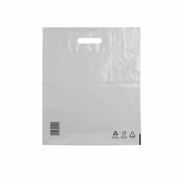 Plastiktüten LDPE COEX 38x45+5, 50my, weiss