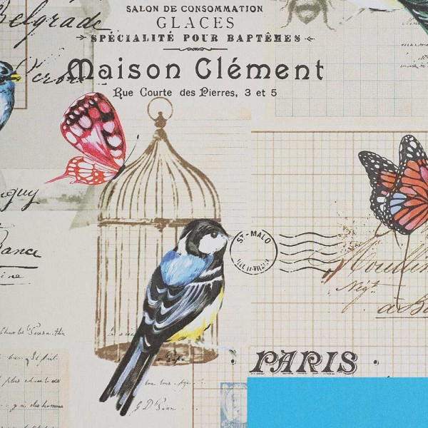 Geschenkpapierrolle Design Classic Postal doppelseitig