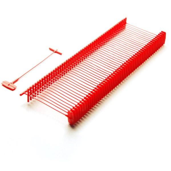 Heftfäden Standard, rot, 5.000 Stück