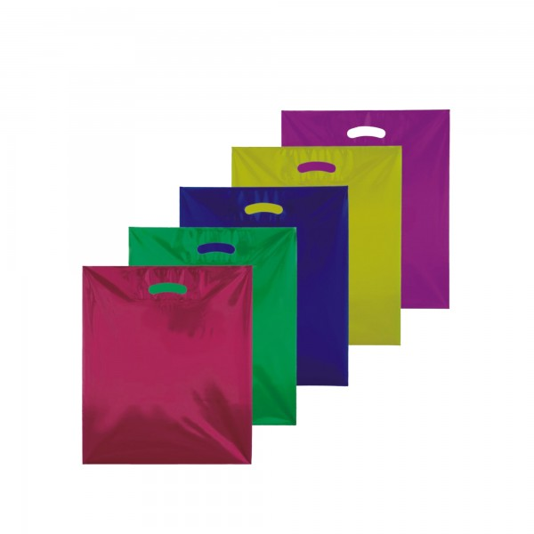 Plastiktüten 38x45+10, 50my, Tropic in 6 Farben