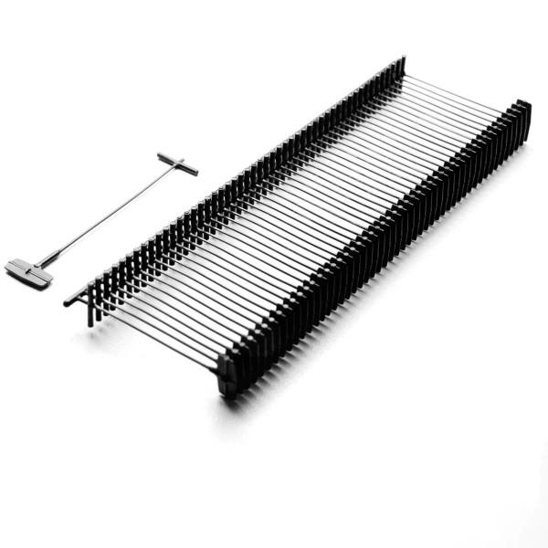Heftfäden Standard, schwarz, 5.000 Stück