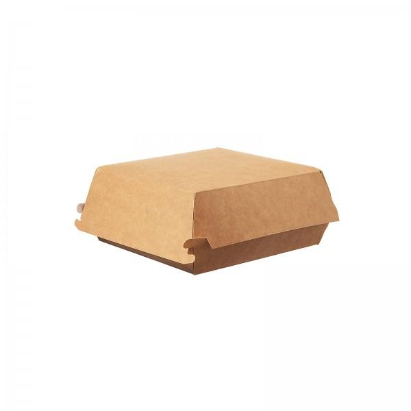 "Hamburger Box ""nature"" in 2 verschiedenen Größen Burgerbox"