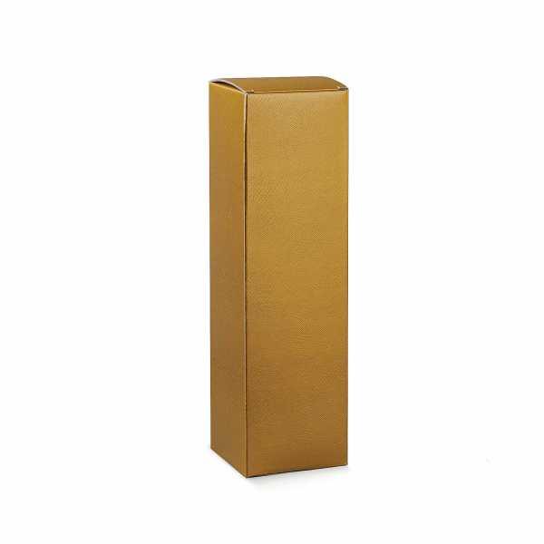 Weinkarton Geschenk Box Skin gold, Champagner 1er, 100 mm