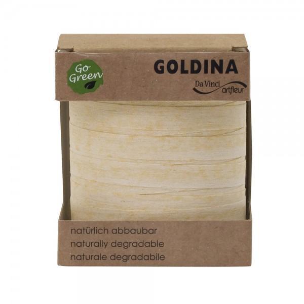 Ringelband Geschenkband Baumwolle Nature Pack Glimmer in 4 Farben