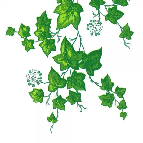 Seidenpapier Rolle für Blumen Ranken auf weiss