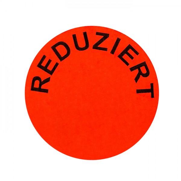 runde Etiketten 32mm, Druck: Reduziert, permanent