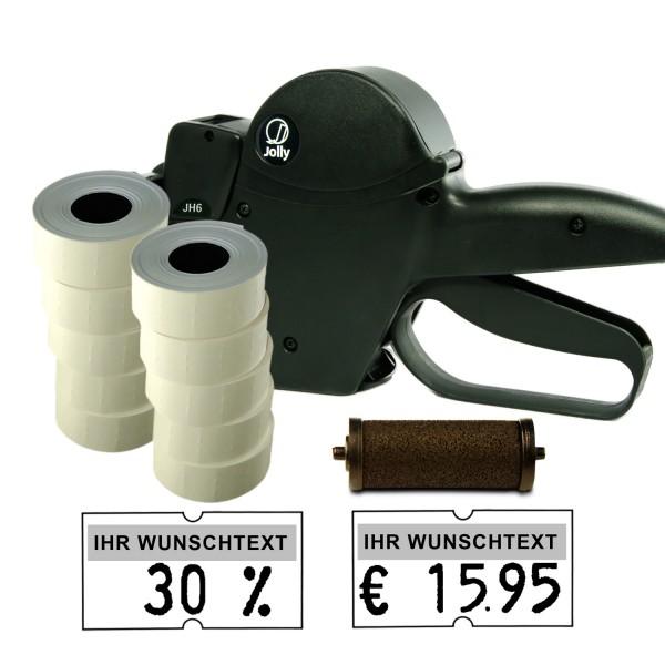 Jolly JH6 Preisauszeichner, 6-Stellen, (Set 10.000 + 1 FR)