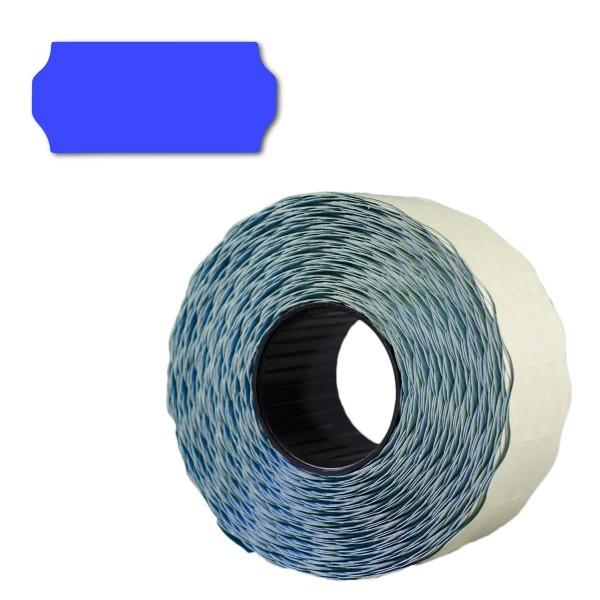 Preisetiketten 26x12, Hell-Blau, permanent