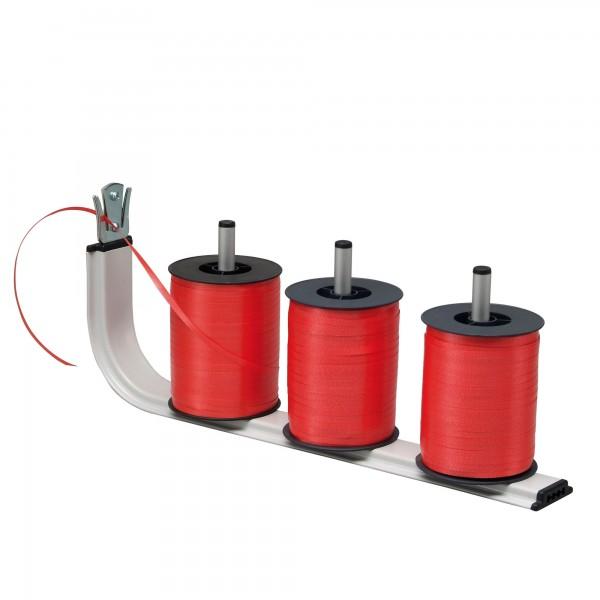 Standard Bandabroller, für 3 Spulen, mit Abschneider