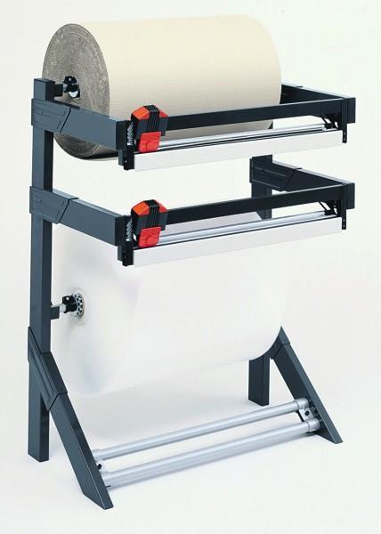 Doppelschneidständer je Rolle 150 kg, Abrollständer