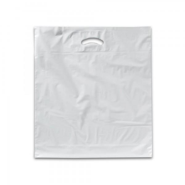 Plastiktüten 50x50+2x5, 60my, weiss