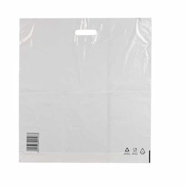 Plastiktüten LDPE COEX 55x60+5, 50my, weiss, 250 Stck / Karton