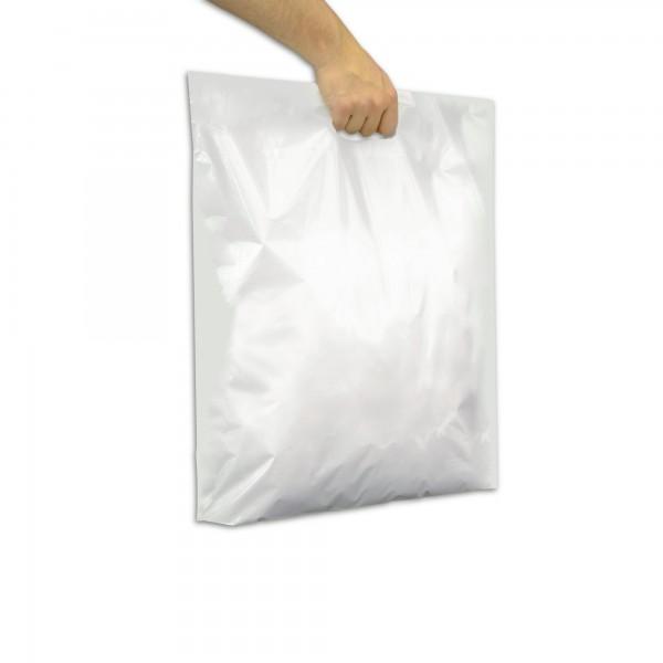 Plastiktüten 55x60+2x5, 46my, weiss, 250 Stck / Karton