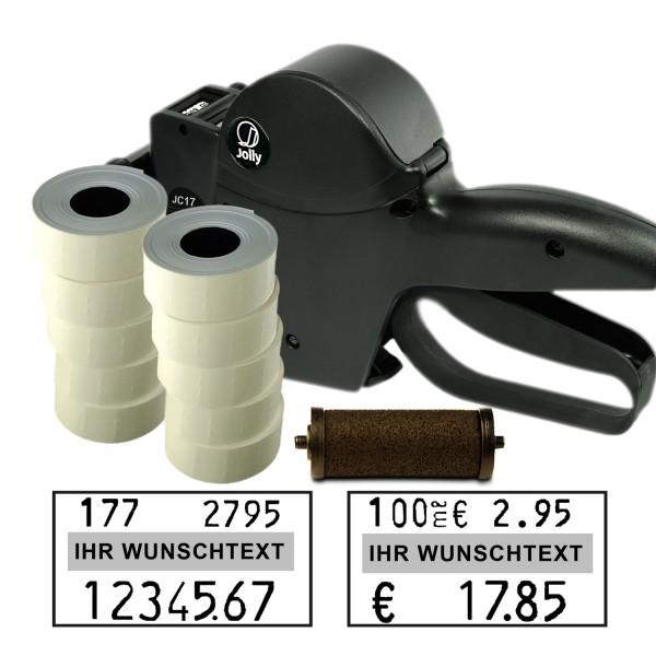 Jolly C17 Preisauszeichner, 17 Stellen, (Set 12.000 + 1 FR)