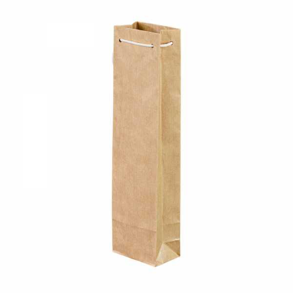 Flaschentaschen 400 Stück, mit Baumwollkordel, 9.5x6.5x38