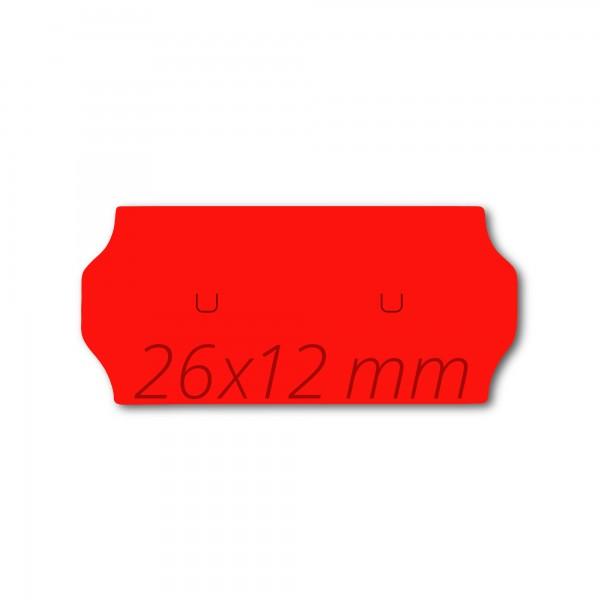 Preisetiketten für Samark26 / Sato26, 26x12 Etikettenrollen
