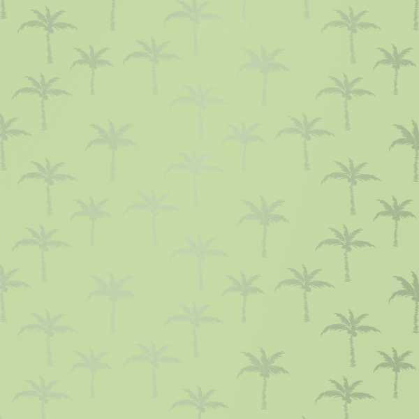 Geschenkpapierrolle Palmbeach grün