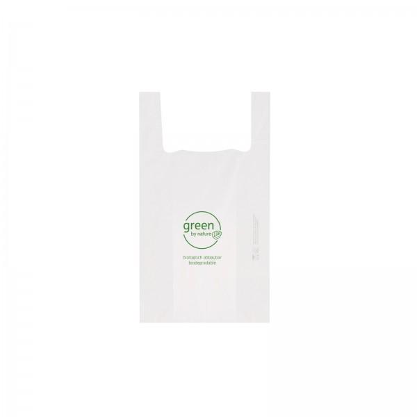 Einkaufstasche Faltenbeutel BIO GREEN BY NATURE 2 verschiedene Größen 1000 Stck.