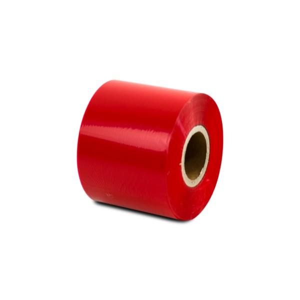 Thermotransferfolie Rot - Wachs - Breite 40 oder 84mm - 300m