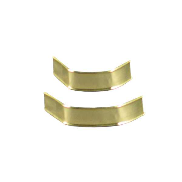 U-Clipse zum Verschließen von Beuteln, gold in zwei Größen