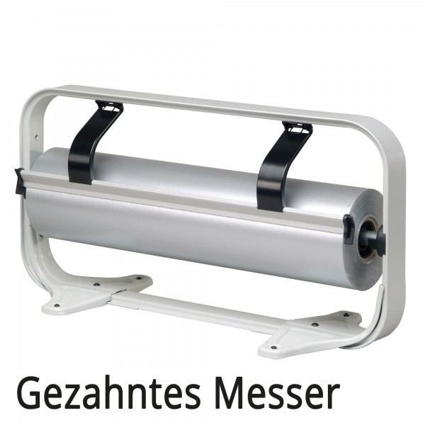Standard Tischabroller, gezahntes Messer, Folienabroller