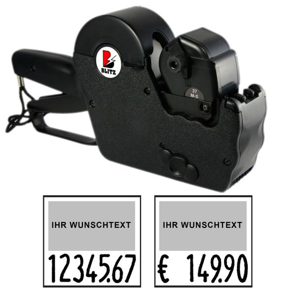 Blitz TM07-Maxi Preisauszeichner, 1-Zeile, 7 Stellen Großdruck