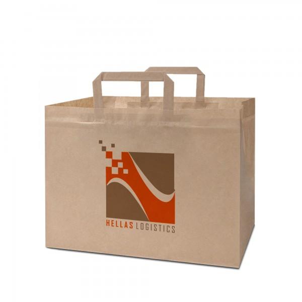 Konditortaschen bedrucken 32x22x24 - mit Aufdruck